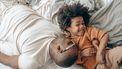 bij kind blijven tot het slaapt