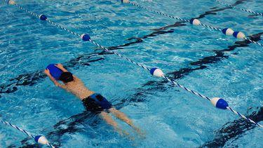 zoon bang voor zwemles