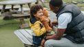 Kind praat kinderachtig