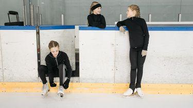 schaatsen met kinderen