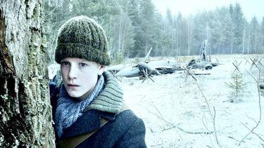 Foto van de hoofrolspeler in de kinderfilm Oorlogswinter