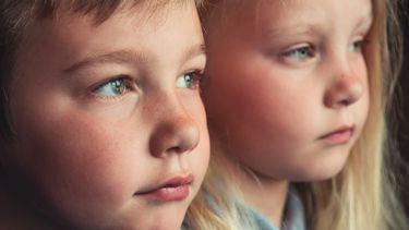 portret van twee kindernen