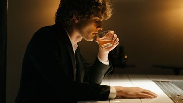 man alcoholist