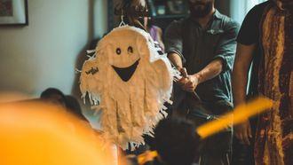 Halloween toetje pinata van een spook