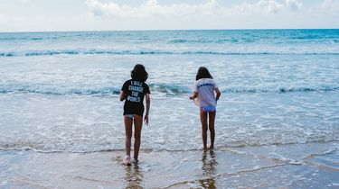 veilige stranddag