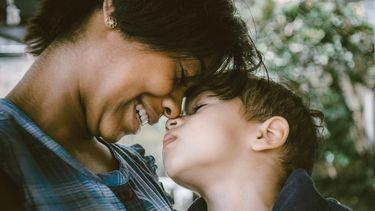 moeder en kind