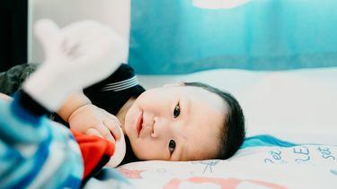 Schattige baby