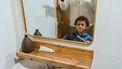 kind poetst tanden routine