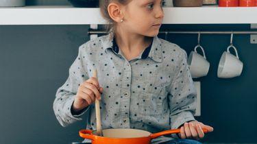 koken met kinderen / kind in de keuken