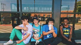 jongens in de puberteit