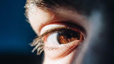 oog van een persoon