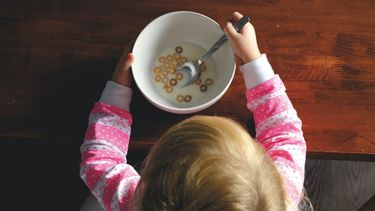 Kind dat lactose-intolerant is maar nog steeds lekker eet