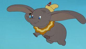 Dombo die vliegt en uit de streamingdienst van Disney+ is gehaald vanwege racistische elementen in de disneyfilm